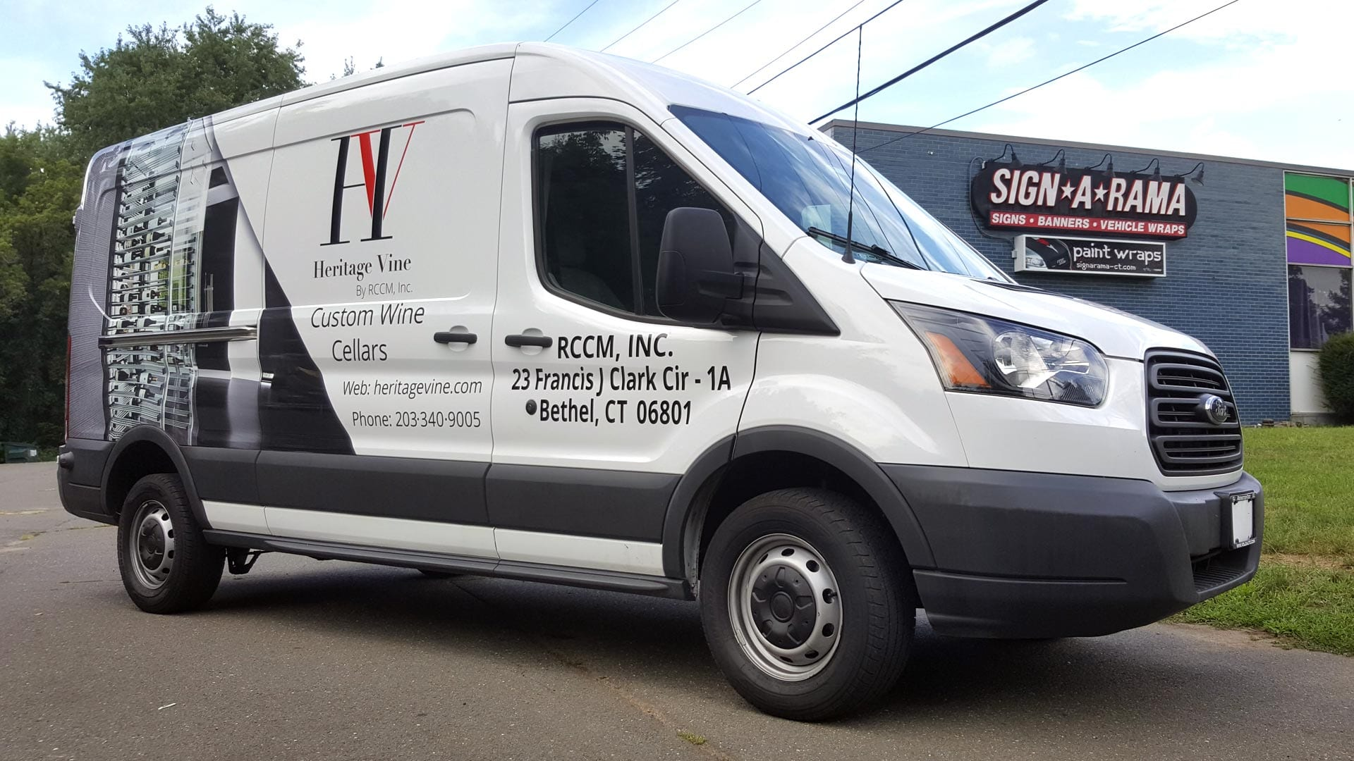 Cargo Van Wraps Amp Lettering In Greater Danbury Amp All Ct