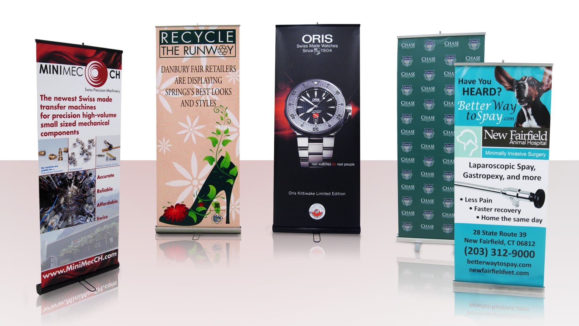 Banners & Posters - Retractable Banner Examples