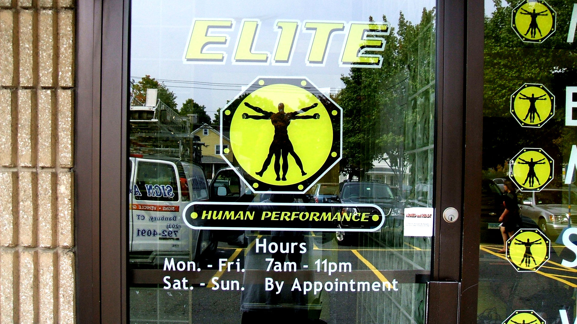 Elite Human Performance Door Signs