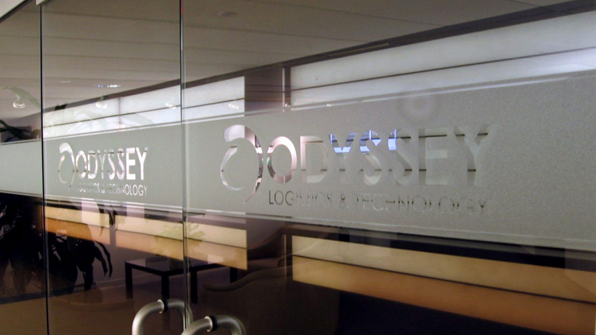 Odyssey door signs