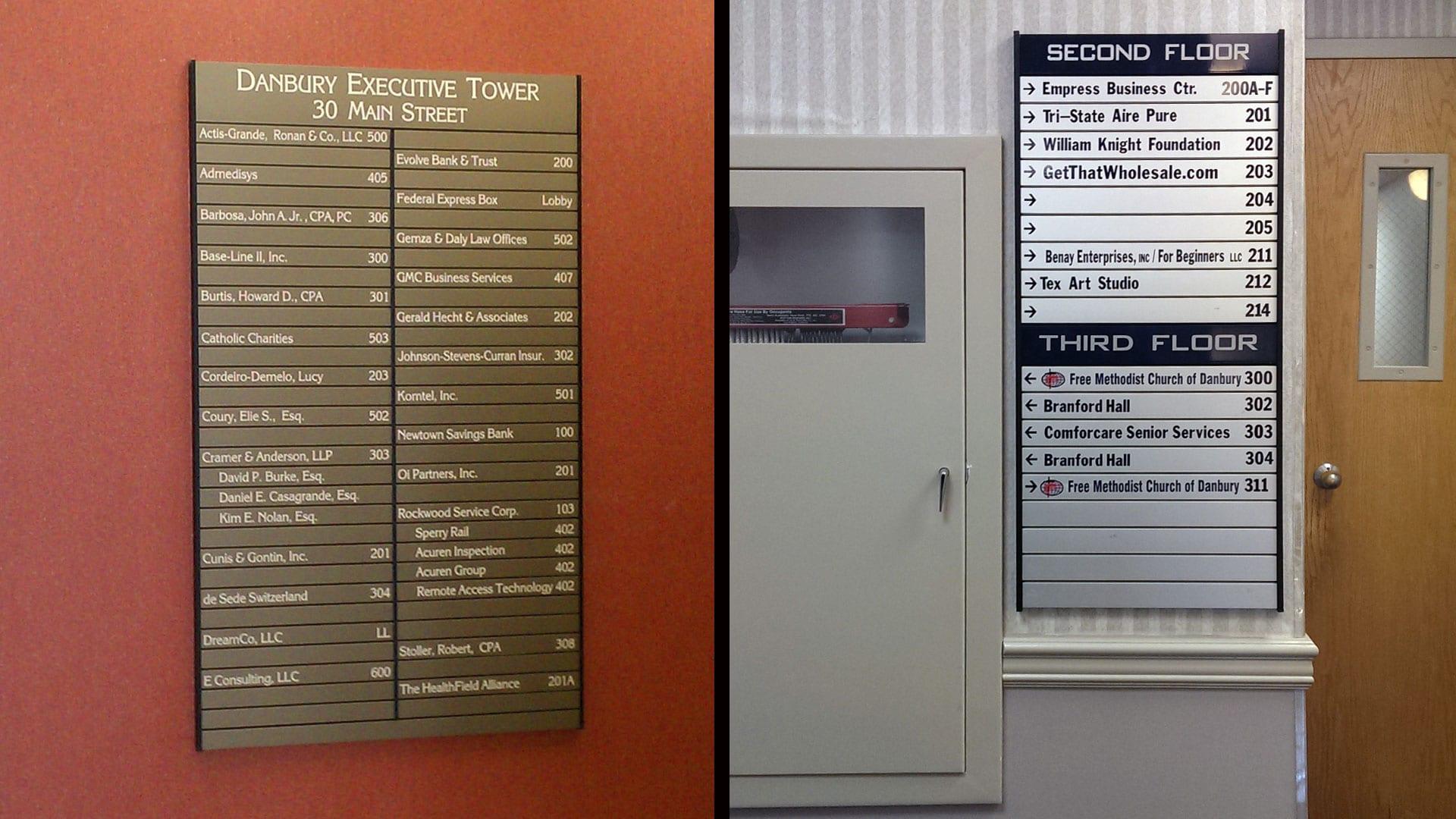 Examples of interior directories