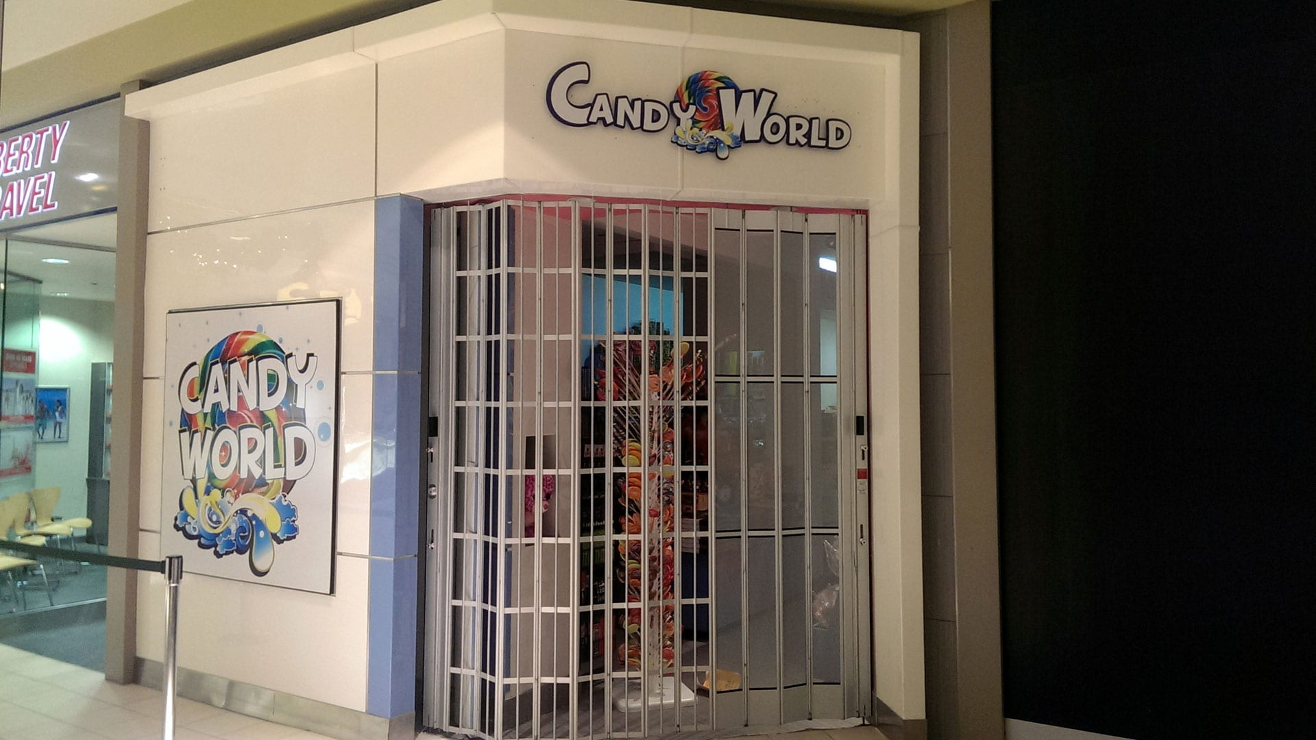 Interior wall sign for Candy World