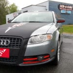 Audi A4 Carbon Fiber Paint Wrap