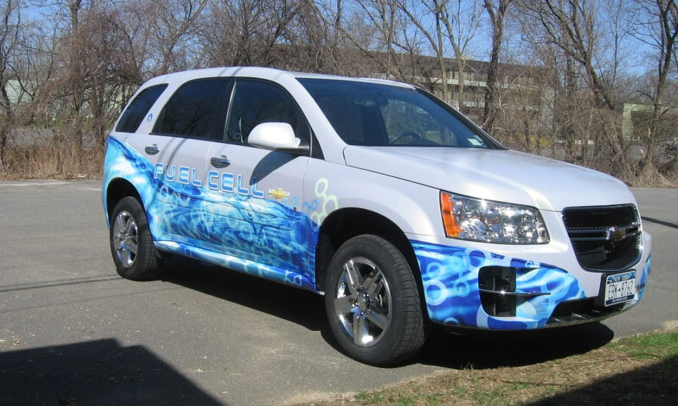 Partial Wrap - SUV - Fuel Cell
