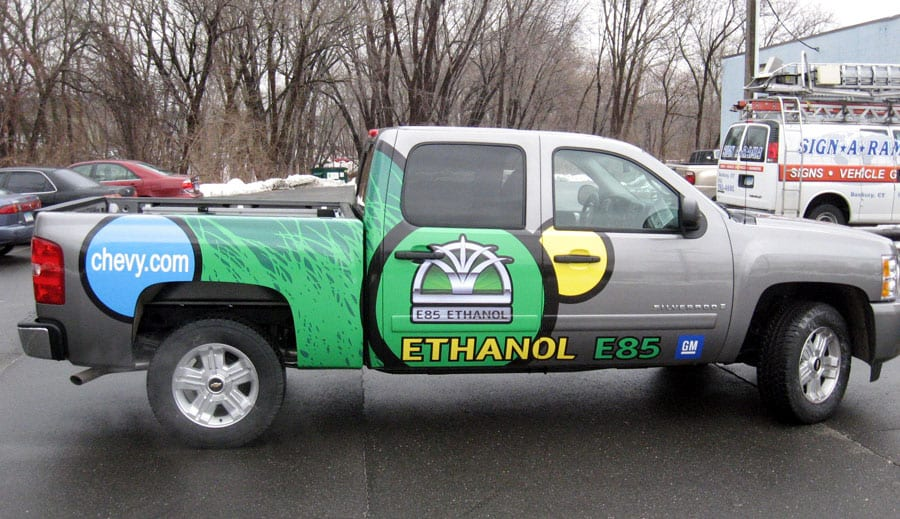 Partial Wrap - Truck - Ethanol