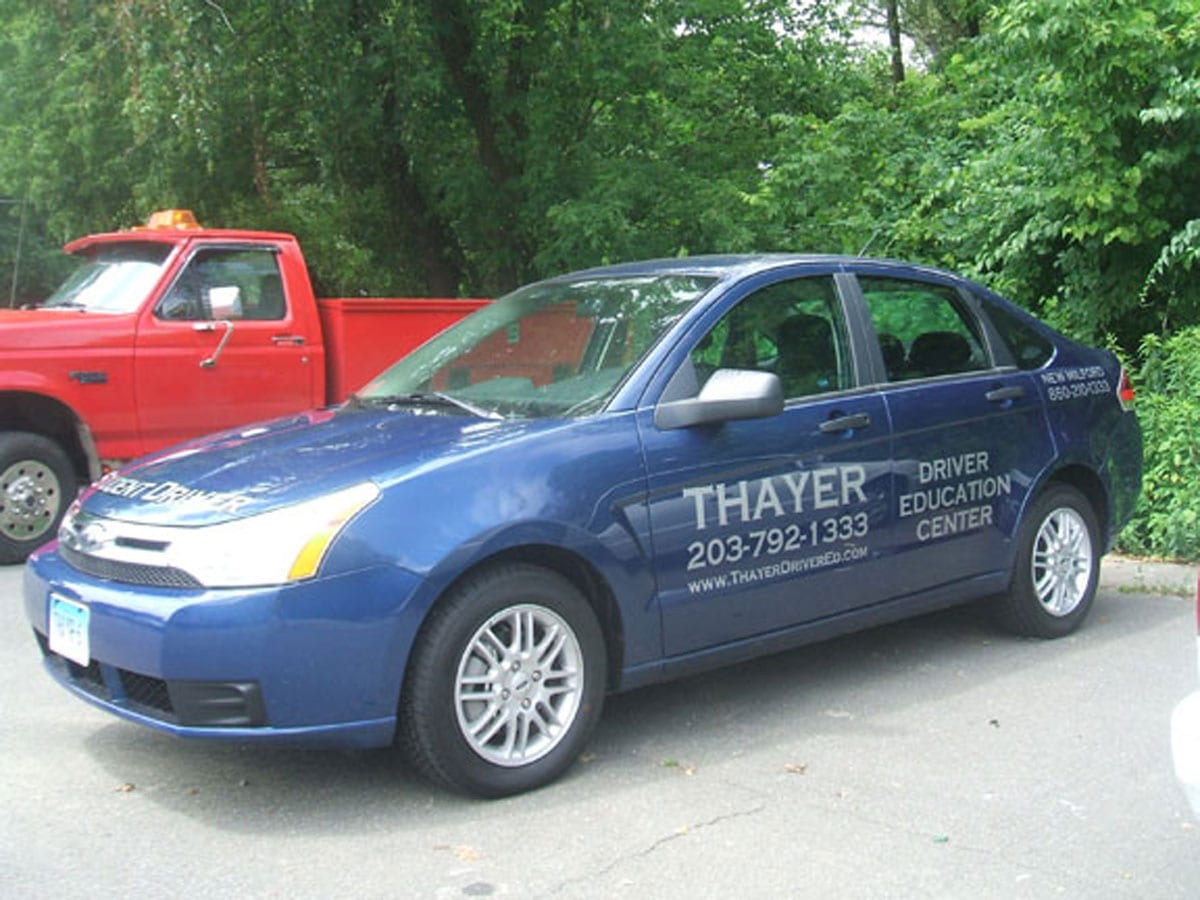 Thayer - Car Lettering
