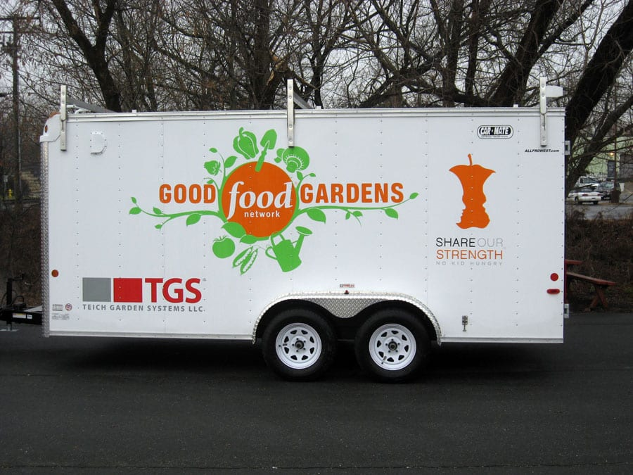 Vinyl Letters - Trailer - Good Gardens Food Network