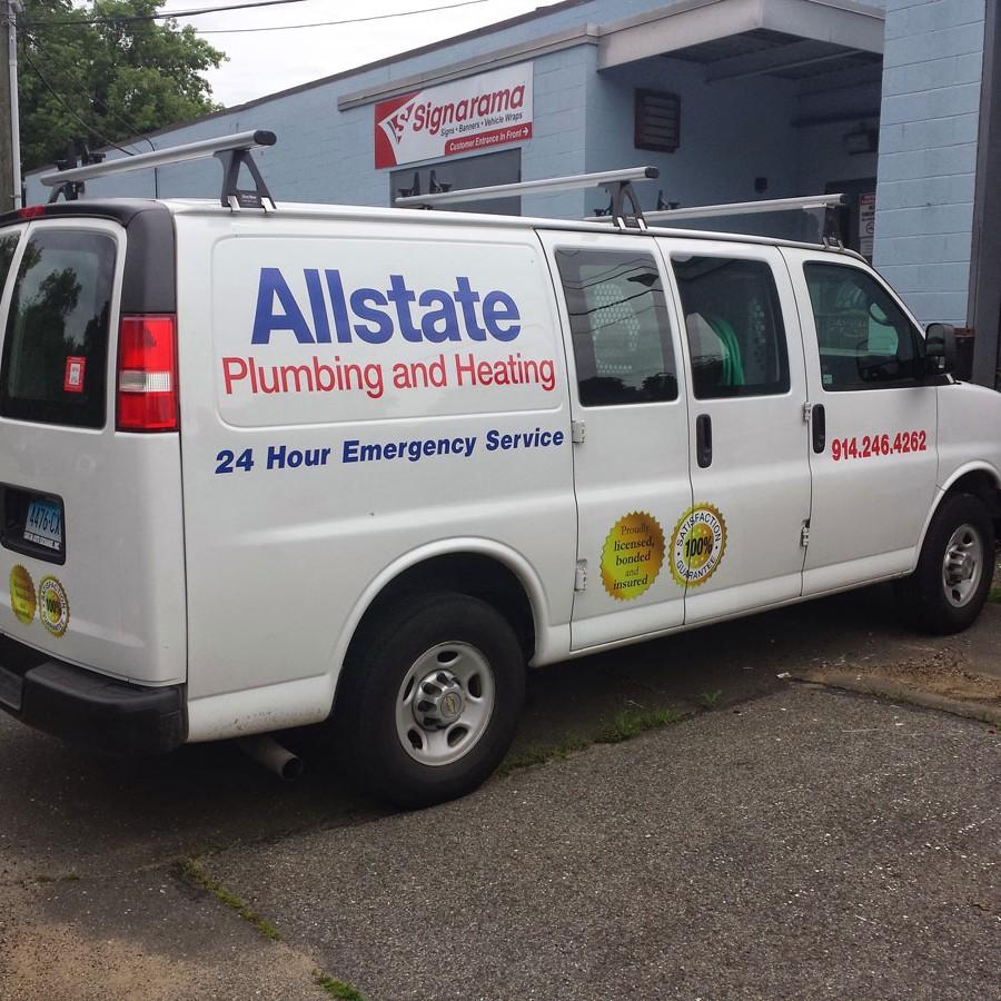 Vinyl Letters Van Allstate