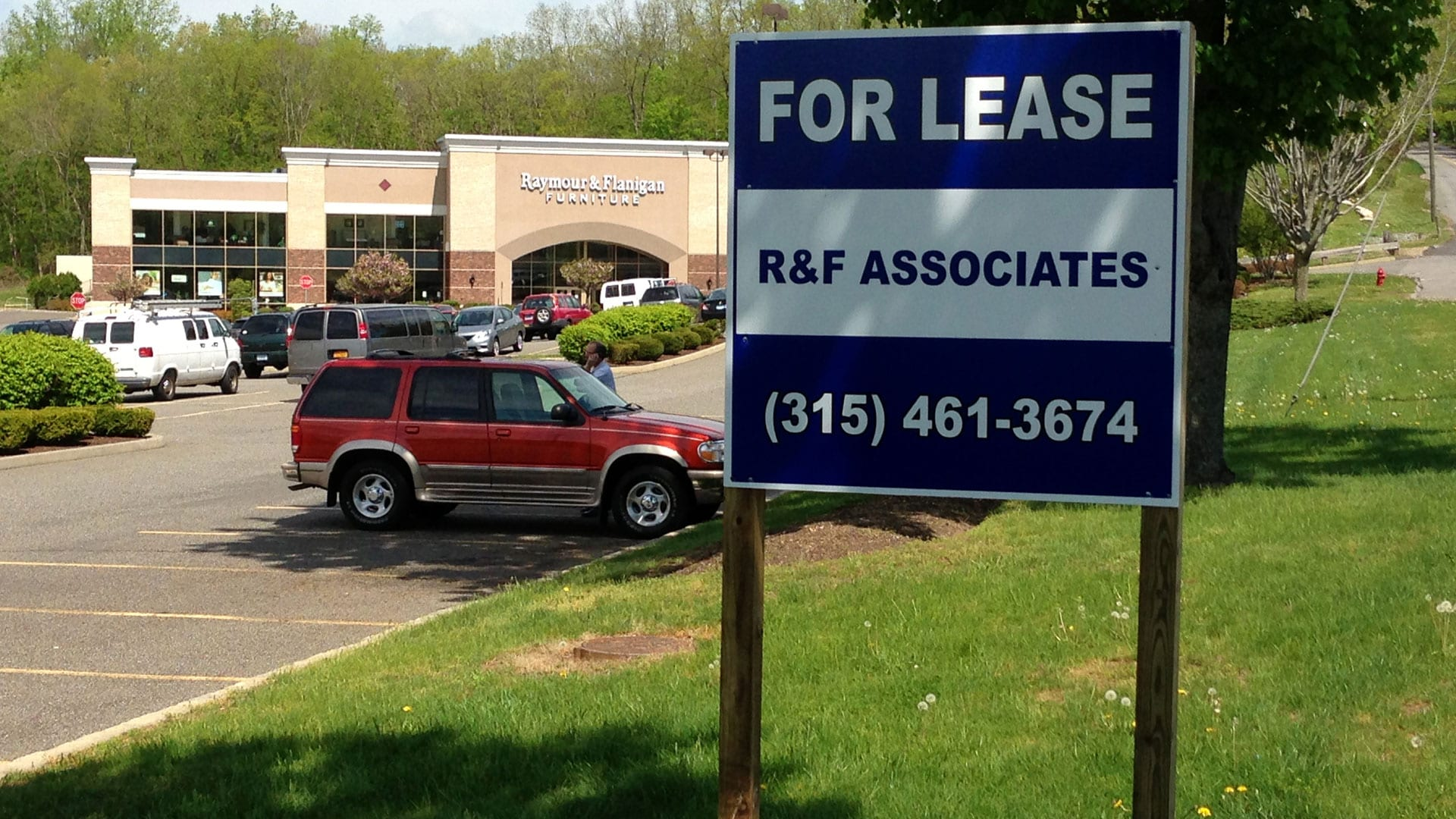For Lease Real Estate sign