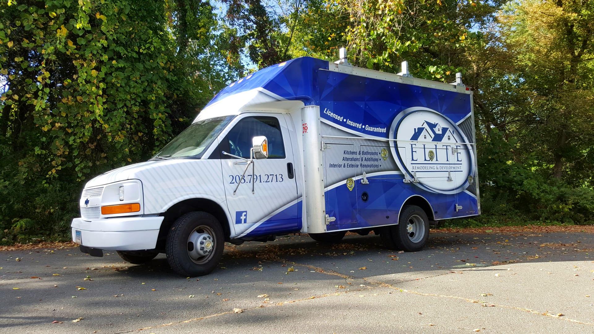Cargo Van Wraps Amp Lettering Signarama Danbury