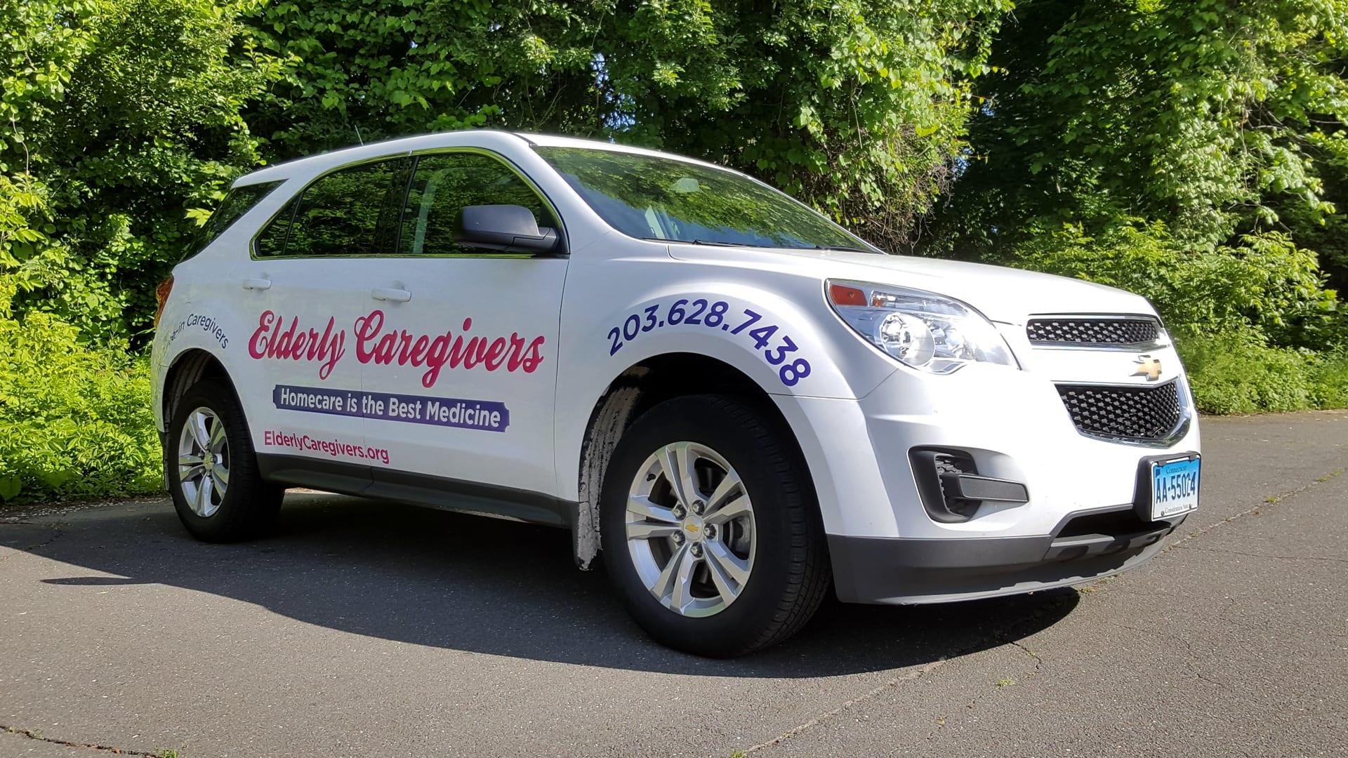 Elderly Caregivers - Vehicle Lettering