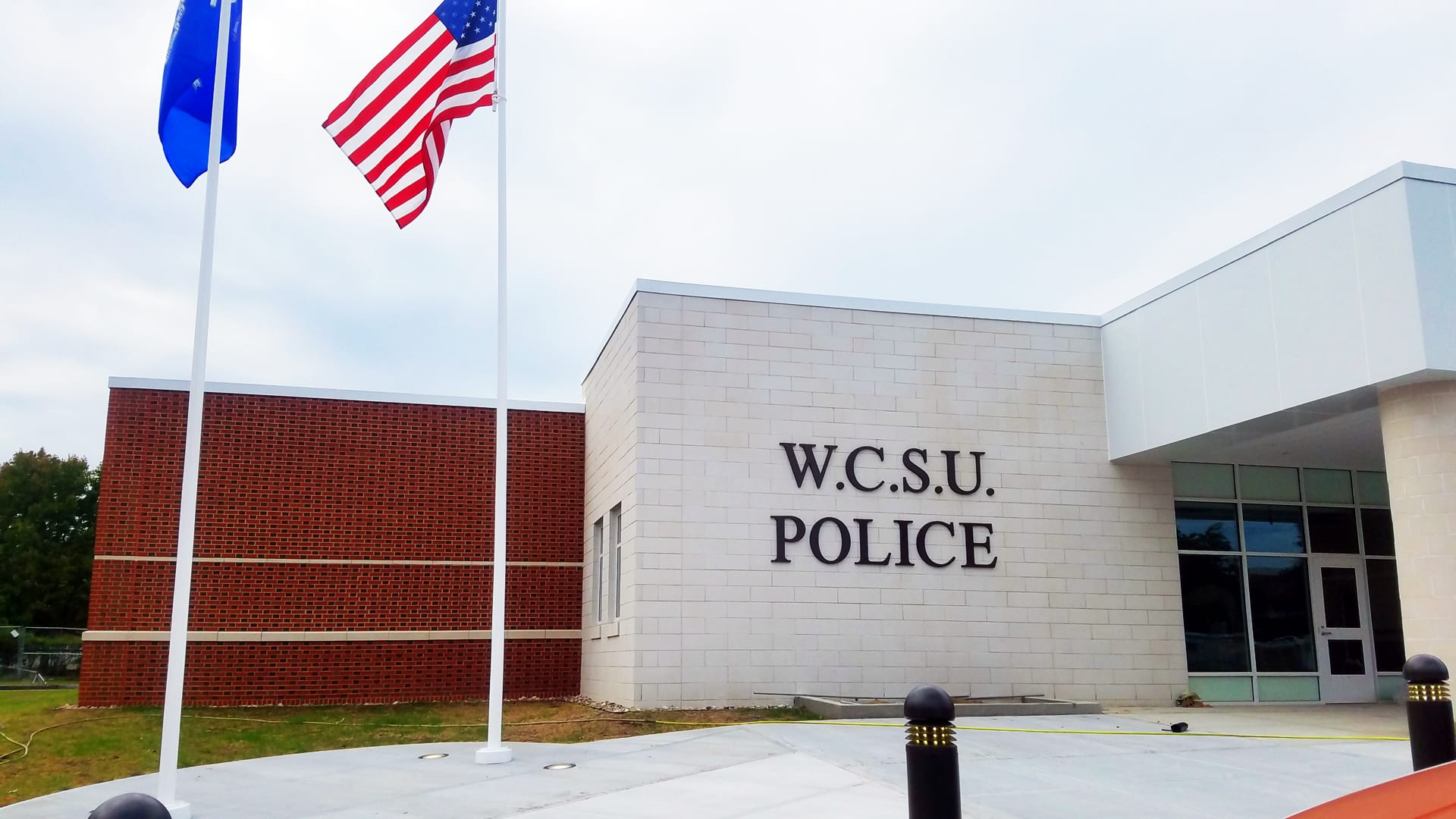 WCSU Police - Exterior Cast Metal Letters