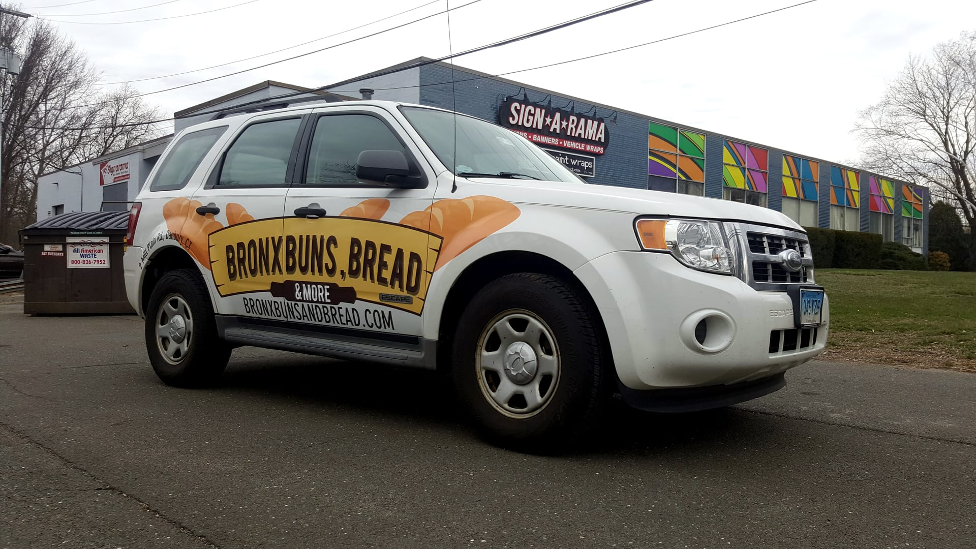Bronx Buns, Bread and More - Vehicle Wrap