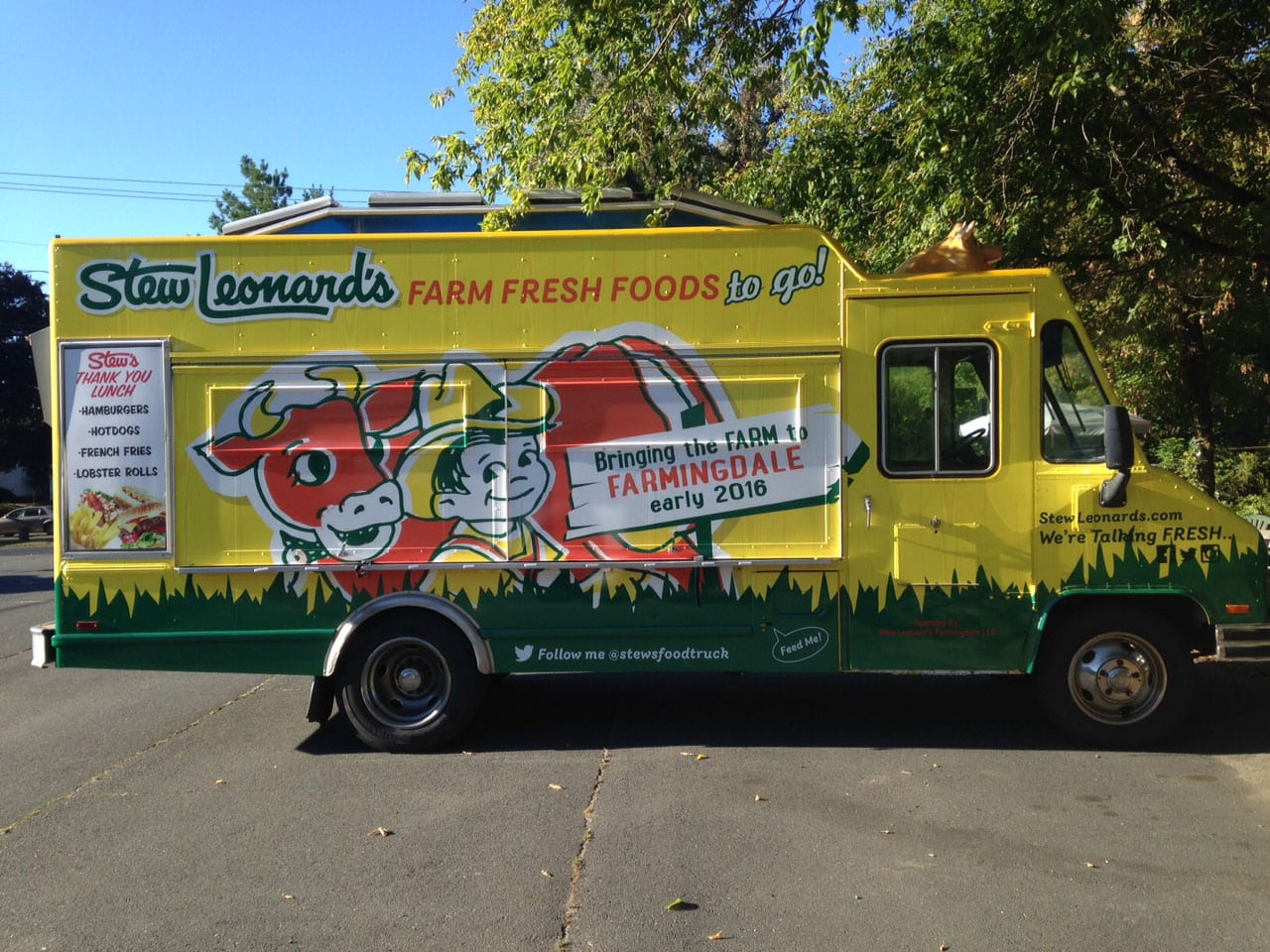 Stew Leonard's - Truck Wrap - Vehicle wrap