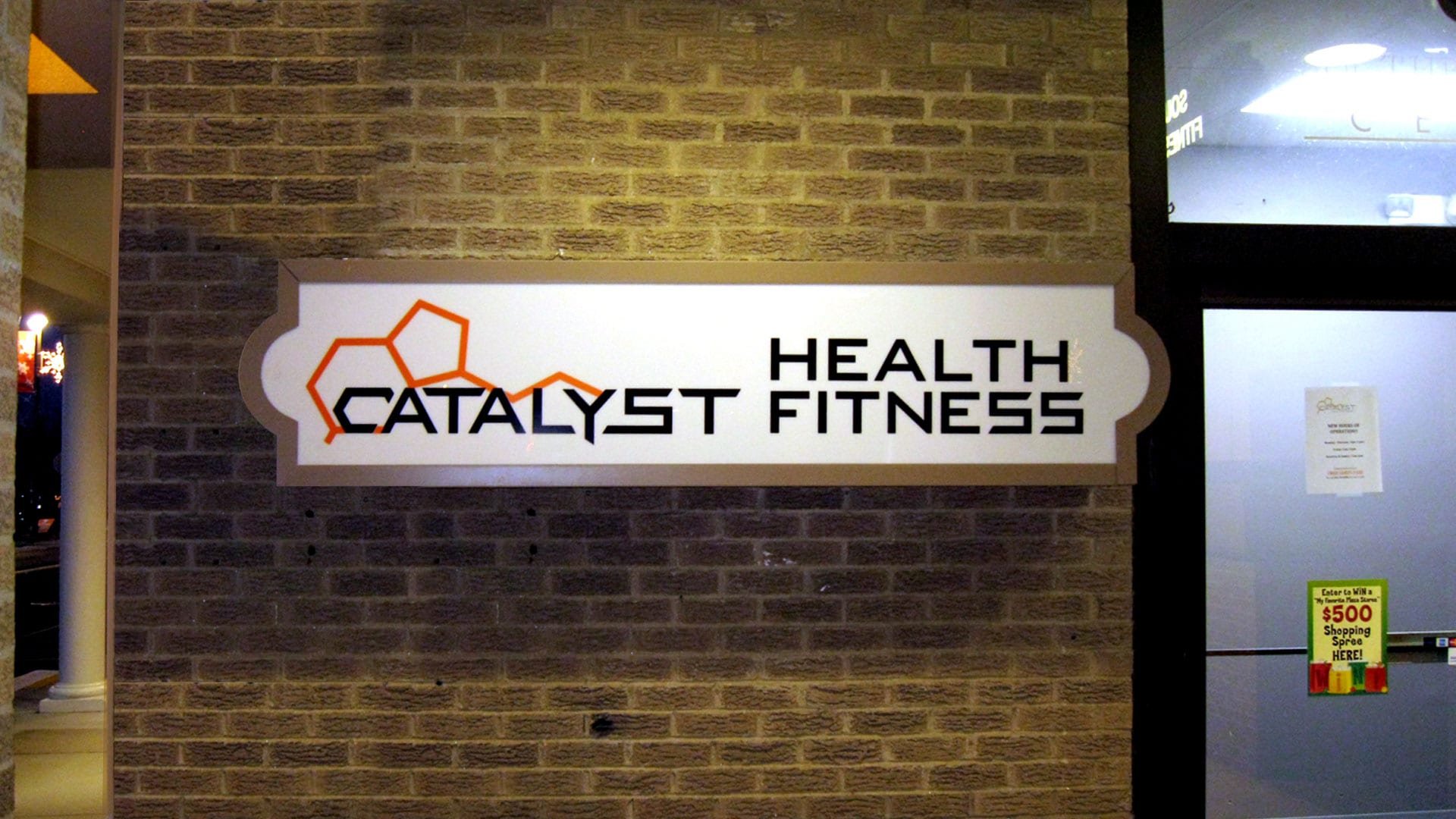 Lighted Cabinet - Catalyst Health and Fitness