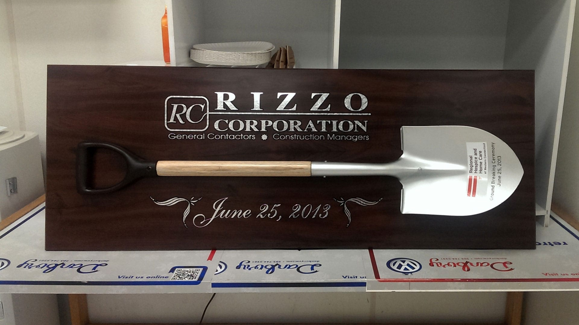 Rizzo Corporation - Freestanding Plaque