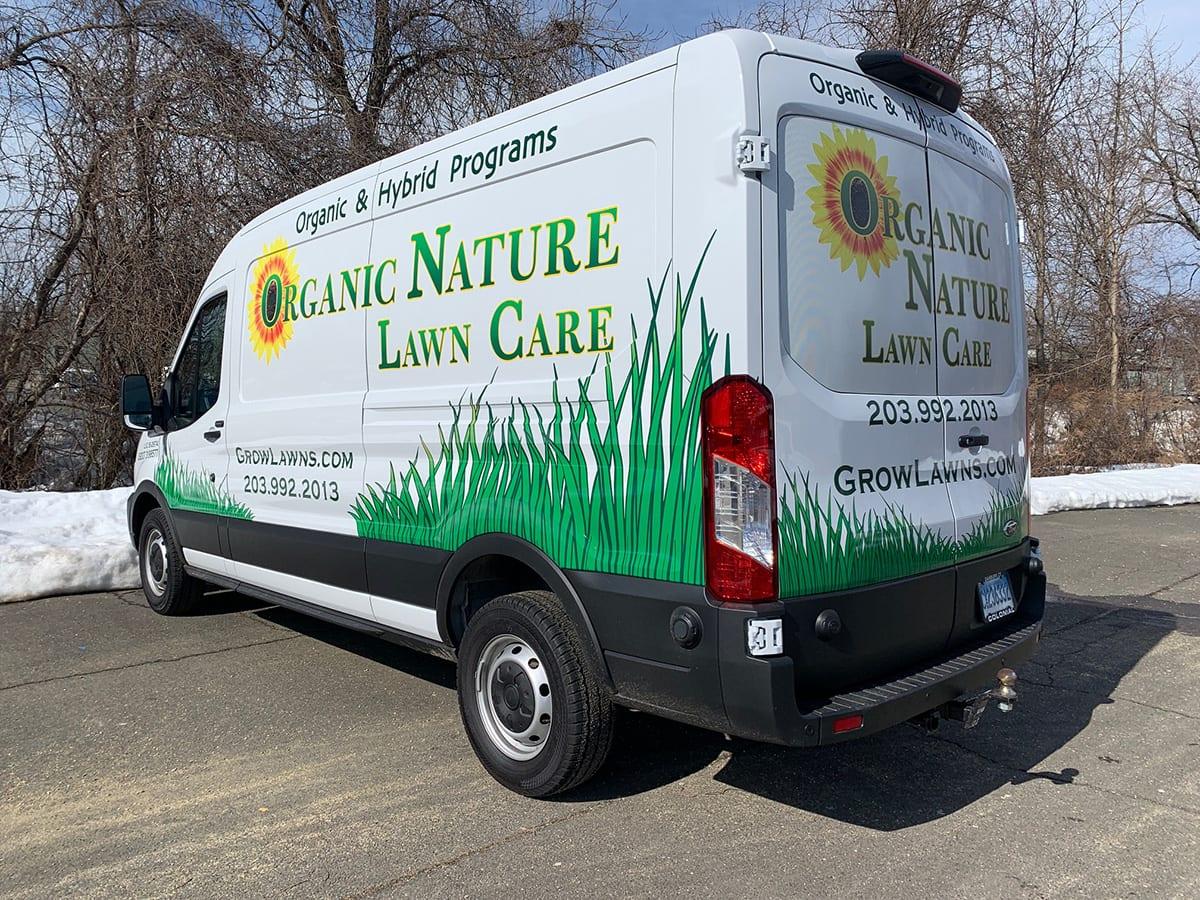 Truck Wrap | Organic Nature Lawn Care
